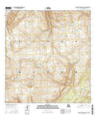 Talkeetna Mountains C-5 NE Alaska Current topographic map, 1:25000 scale, 7.5 X 7.5 Minute, Year 2016