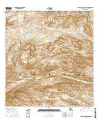 Talkeetna Mountains C-5 NW Alaska Current topographic map, 1:25000 scale, 7.5 X 7.5 Minute, Year 2016