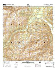 Talkeetna Mountains C-5 SE Alaska Current topographic map, 1:25000 scale, 7.5 X 7.5 Minute, Year 2016