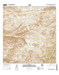 Talkeetna Mountains C-5 SW Alaska Current topographic map, 1:25000 scale, 7.5 X 7.5 Minute, Year 2016