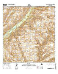Talkeetna Mountains C-6 SE Alaska Current topographic map, 1:25000 scale, 7.5 X 7.5 Minute, Year 2016