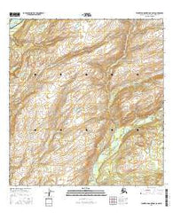 Talkeetna Mountains C-6 SW Alaska Current topographic map, 1:25000 scale, 7.5 X 7.5 Minute, Year 2016