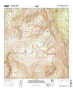 Talkeetna Mountains D-1 SW Alaska Current topographic map, 1:25000 scale, 7.5 X 7.5 Minute, Year 2016 from Alaska Map Store