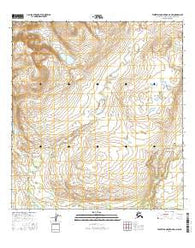 Talkeetna Mountains D-3 NW Alaska Current topographic map, 1:25000 scale, 7.5 X 7.5 Minute, Year 2016
