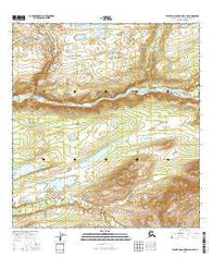 Talkeetna Mountains D-3 SW Alaska Current topographic map, 1:25000 scale, 7.5 X 7.5 Minute, Year 2016