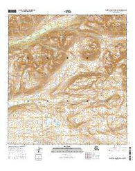 Talkeetna Mountains D-4 NW Alaska Current topographic map, 1:25000 scale, 7.5 X 7.5 Minute, Year 2016