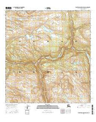 Talkeetna Mountains D-5 SE Alaska Current topographic map, 1:25000 scale, 7.5 X 7.5 Minute, Year 2016