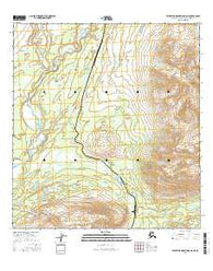 Talkeetna Mountains D-6 NE Alaska Current topographic map, 1:25000 scale, 7.5 X 7.5 Minute, Year 2016