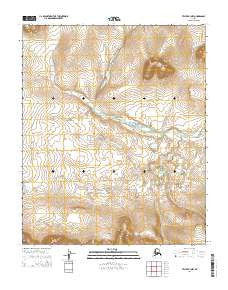 Teller B-3 NW Alaska Current topographic map, 1:25000 scale, 7.5 X 7.5 Minute, Year 2014