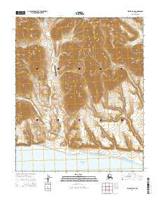 Teller B-5 NE Alaska Current topographic map, 1:25000 scale, 7.5 X 7.5 Minute, Year 2014