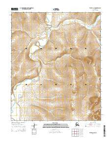 Teller C-2 SE Alaska Current topographic map, 1:25000 scale, 7.5 X 7.5 Minute, Year 2014