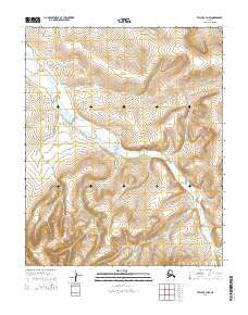 Teller C-3 NW Alaska Current topographic map, 1:25000 scale, 7.5 X 7.5 Minute, Year 2014