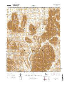 Teller C-4 SW Alaska Current topographic map, 1:25000 scale, 7.5 X 7.5 Minute, Year 2014