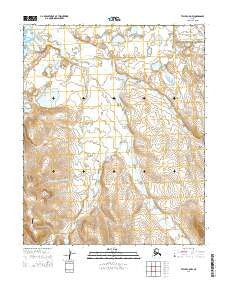 Teller C-5 NW Alaska Current topographic map, 1:25000 scale, 7.5 X 7.5 Minute, Year 2014