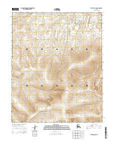 Teller D-3 SE Alaska Current topographic map, 1:25000 scale, 7.5 X 7.5 Minute, Year 2014