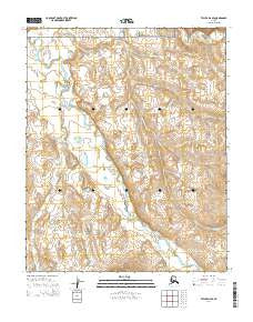 Teller D-4 SE Alaska Current topographic map, 1:25000 scale, 7.5 X 7.5 Minute, Year 2014