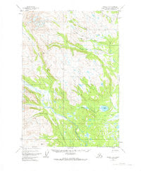 Tyonek C-5 Alaska Historical topographic map, 1:63360 scale, 15 X 15 Minute, Year 1954