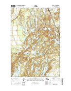 Tyonek C-1 NE Alaska Current topographic map, 1:25000 scale, 7.5 X 7.5 Minute, Year 2016 from Alaska Map Store