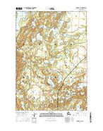 Tyonek C-1 SE Alaska Current topographic map, 1:25000 scale, 7.5 X 7.5 Minute, Year 2016 from Alaska Map Store