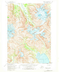 Ugashik A-3 Alaska Historical topographic map, 1:63360 scale, 15 X 15 Minute, Year 1954