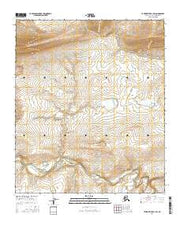Utukok River A-1 SW Alaska Current topographic map, 1:25000 scale, 7.5 X 7.5 Minute, Year 2016 from Alaska Maps Store