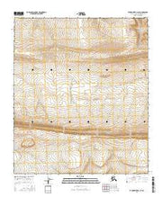 Utukok River A-3 SE Alaska Current topographic map, 1:25000 scale, 7.5 X 7.5 Minute, Year 2016 from Alaska Maps Store