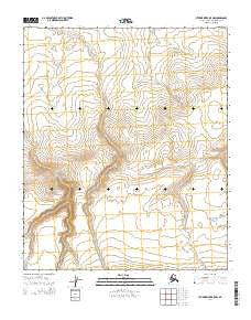 Utukok River B-5 NW Alaska Current topographic map, 1:25000 scale, 7.5 X 7.5 Minute, Year 2014