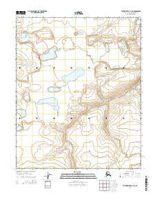 Utukok River D-1 NE Alaska Current topographic map, 1:25000 scale, 7.5 X 7.5 Minute, Year 2014