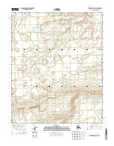 Utukok River D-3 NE Alaska Current topographic map, 1:25000 scale, 7.5 X 7.5 Minute, Year 2014
