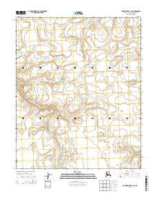 Utukok River D-4 NE Alaska Current topographic map, 1:25000 scale, 7.5 X 7.5 Minute, Year 2014