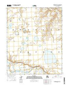 Utukok River D-5 NE Alaska Current topographic map, 1:25000 scale, 7.5 X 7.5 Minute, Year 2014