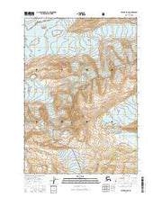 Valdez A-8 NE Alaska Current topographic map, 1:25000 scale, 7.5 X 7.5 Minute, Year 2016 from Alaska Maps Store