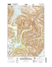 Valdez A-8 SW Alaska Current topographic map, 1:25000 scale, 7.5 X 7.5 Minute, Year 2016 from Alaska Maps Store