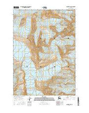 Valdez B-6 SW Alaska Current topographic map, 1:25000 scale, 7.5 X 7.5 Minute, Year 2016 from Alaska Maps Store