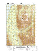 Valdez D-6 SE Alaska Current topographic map, 1:25000 scale, 7.5 X 7.5 Minute, Year 2016 from Alaska Map Store