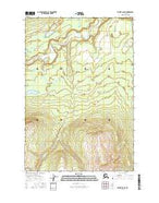 Valdez D-8 NE Alaska Current topographic map, 1:25000 scale, 7.5 X 7.5 Minute, Year 2016 from Alaska Map Store