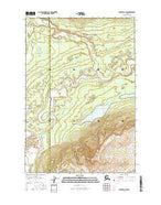 Valdez D-8 NW Alaska Current topographic map, 1:25000 scale, 7.5 X 7.5 Minute, Year 2016 from Alaska Map Store