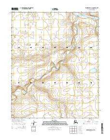 Wainwright A-2 SE Alaska Current topographic map, 1:25000 scale, 7.5 X 7.5 Minute, Year 2014