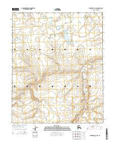 Wainwright A-3 SW Alaska Current topographic map, 1:25000 scale, 7.5 X 7.5 Minute, Year 2014