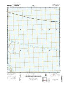 Wainwright B-5 SE Alaska Current topographic map, 1:25000 scale, 7.5 X 7.5 Minute, Year 2014