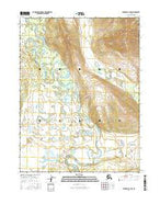 Wiseman A-4 NW Alaska Current topographic map, 1:25000 scale, 7.5 X 7.5 Minute, Year 2016 from Alaska Map Store