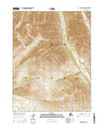 Wiseman A-5 NW Alaska Current topographic map, 1:25000 scale, 7.5 X 7.5 Minute, Year 2016 from Alaska Map Store