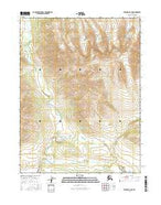 Wiseman A-6 NE Alaska Current topographic map, 1:25000 scale, 7.5 X 7.5 Minute, Year 2016 from Alaska Map Store