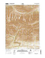 Wiseman A-6 NW Alaska Current topographic map, 1:25000 scale, 7.5 X 7.5 Minute, Year 2016 from Alaska Map Store