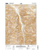 Wiseman C-5 NE Alaska Current topographic map, 1:25000 scale, 7.5 X 7.5 Minute, Year 2016 from Alaska Map Store