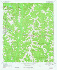 Abbeville East Alabama Historical topographic map, 1:24000 scale, 7.5 X 7.5 Minute, Year 1969
