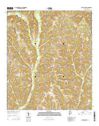 Abbeville East Alabama Current topographic map, 1:24000 scale, 7.5 X 7.5 Minute, Year 2014