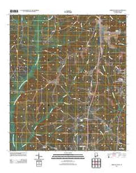 Abbeville West Alabama Historical topographic map, 1:24000 scale, 7.5 X 7.5 Minute, Year 2011