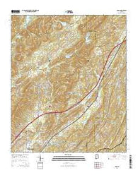 Argo Alabama Current topographic map, 1:24000 scale, 7.5 X 7.5 Minute, Year 2014