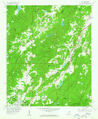 Argo Alabama Historical topographic map, 1:24000 scale, 7.5 X 7.5 Minute, Year 1959